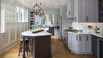 Whitefish Bay Revival Transitional Kitchen