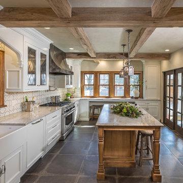 Whitefish Bay Tudor Kitchen