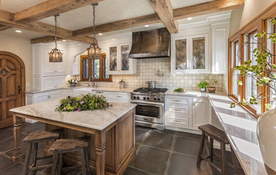 Kitchen of the Week: Wisconsin Renovation Restores Tudor Style