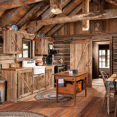 Rustic Kitchen by Montana Creative architecture + design