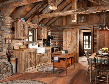 Whitefish, Montana Private Historic Cabin Remodel