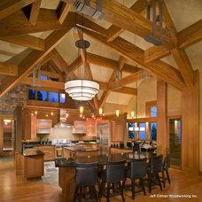 Modern Kitchen by Jeff Gilman Woodworking Inc.