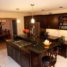 Contemporary Kitchen by East Hill Cabinetry