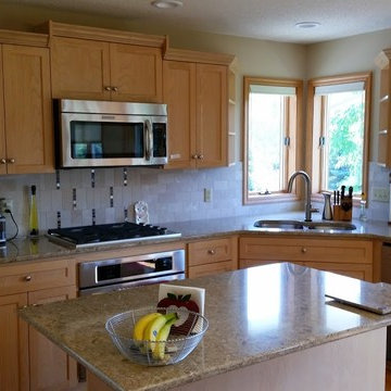 Whitewashed Oak Kitchen in Inver Grove Heights