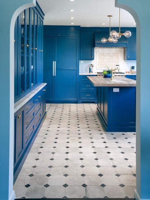 Cement Tile Backsplash | Houzz