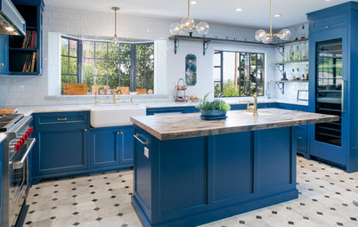 Kitchen of the Week: Bringing Back Glamour to a Hollywood Hills Home