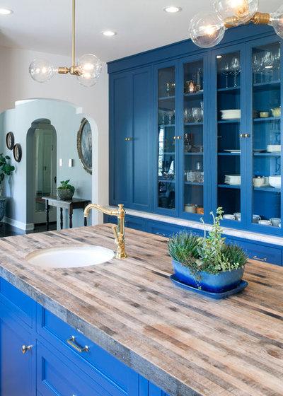 Mediterranean Kitchen by JWT Associates