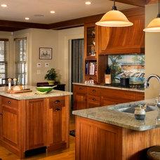 Traditional Kitchen by John Stanek Custom Builders, Inc.