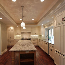 Traditional Kitchen by Ault Design + Construction