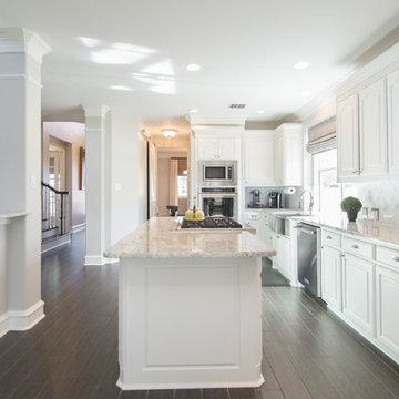 Whole House Contemporary Renovation | Black Wood Tile Planks