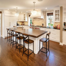 Traditional Kitchen by ALH Home Renovations, LLC