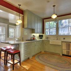 Craftsman Kitchen by Acton Construction, Inc.