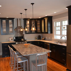 Contemporary Kitchen by TRAM Construction