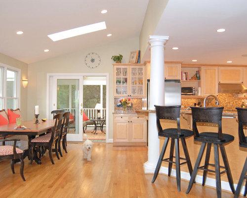 cuisine avec un lot central honey bear photos et id es d co de cuisines. Black Bedroom Furniture Sets. Home Design Ideas