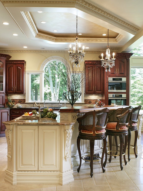 Antique Kitchen Design Interesting Toasted Antique Kitchen Ideas & Photos  Houzz Decorating Inspiration