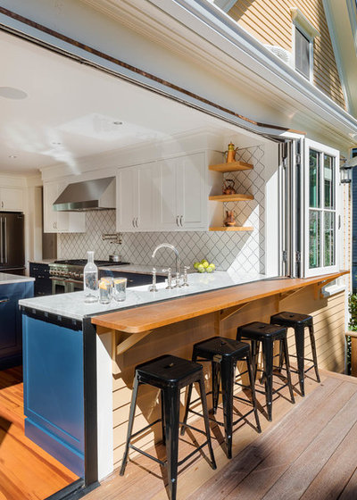 Contemporary Kitchen by Boston Counters