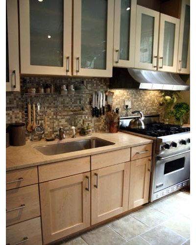 Eclectic Kitchen by KitchenLab | Rebekah Zaveloff Interiors