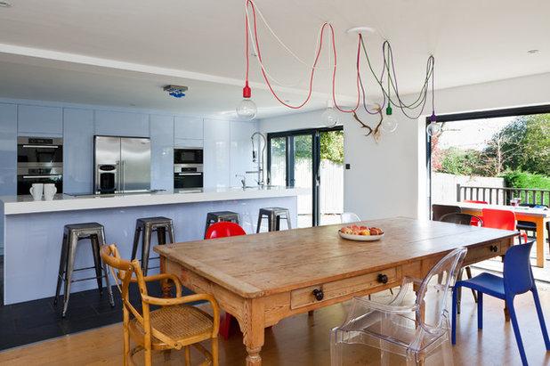 Tavolo E Sedie Cucina: Tavoli moderni e sedie moderne a cuneo ...