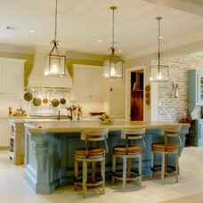 Traditional Kitchen by Brickmoon Design