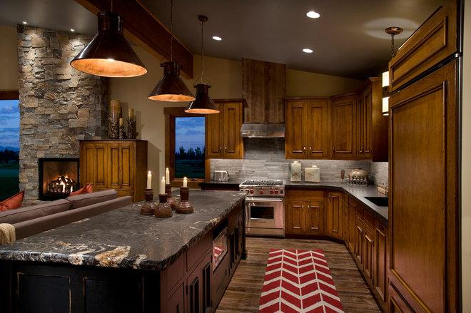 Contemporary Kitchen by Hunter and Company Interior Design