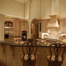 Mediterranean Kitchen by HEI Design