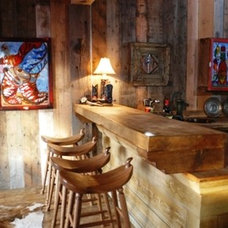 Kitchen by Legends West Reclaimed Lumber