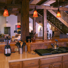 Traditional Kitchen by Legends West Reclaimed Lumber