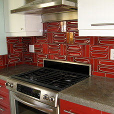Contemporary Kitchen by London Tile