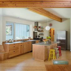 Midcentury Kitchen by Whitney Architecture
