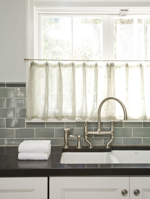 Kitchen Window Curtains Over Sink Tension Rods