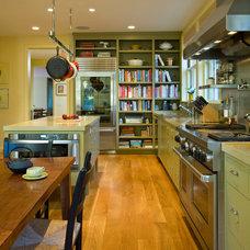 Transitional Kitchen by Richardson Architects