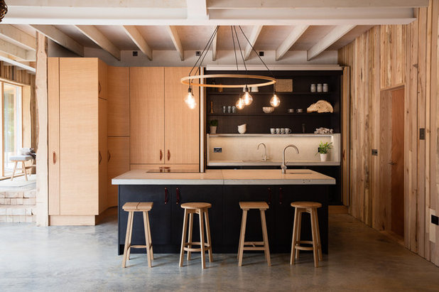 Contemporary Kitchen by Kettle Co. Kitchens