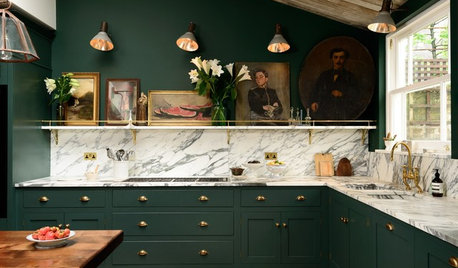 5 Countertops That Look Beautiful in a Green Kitchen