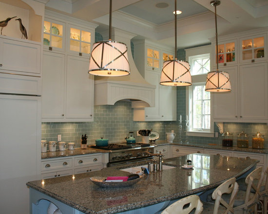 Green Subway Tile Backsplash Houzz