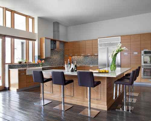 l shaped kitchen island ideas, pictures, remodel and decor
