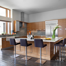 Contemporary Kitchen by Hefferlin & Kronenberg Architects