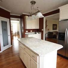 Traditional Kitchen by Sara Ballinger - 1130 Creative, LLC