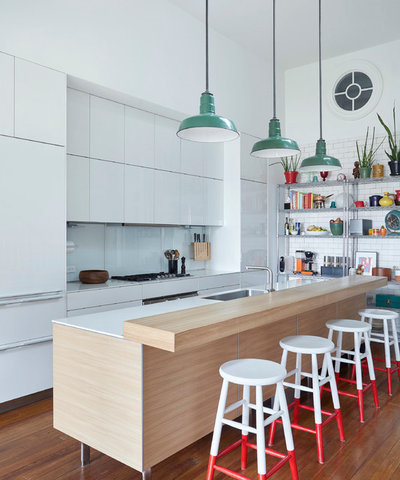 Eclectic Kitchen by Linda Cava