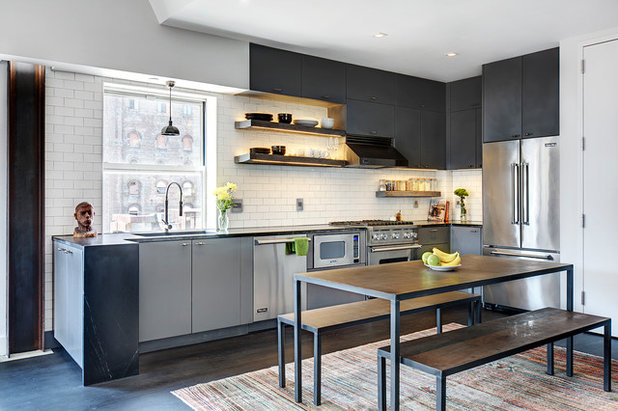 Industrial Kitchen by Photo by Pixy