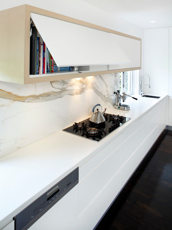 Modern Kitchen Marble Backsplash marble backsplash | houzz