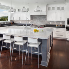 Transitional Kitchen by Morgan Howarth Photography