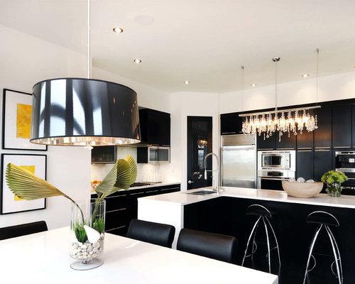 lighting over kitchen island   houzz
