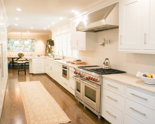 Galley kitchen design ideas renovations photos with no for Kitchen ideas no island