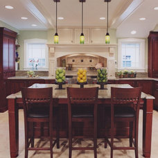 Traditional Kitchen by COOK ARCHITECTURAL Design Studio