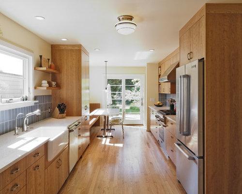 Küchen mit Arbeitsplatte aus Recyclingglas - Ideen & Bilder | HOUZZ