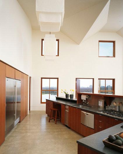 Transitional Kitchen by Melander Architects, Inc.