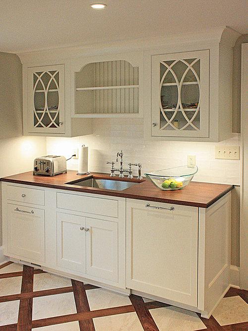 k chen mit k chenr ckwand aus zementfliesen und. Black Bedroom Furniture Sets. Home Design Ideas