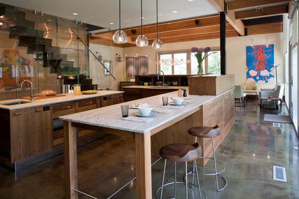 Eclectic Kitchen by Realm
