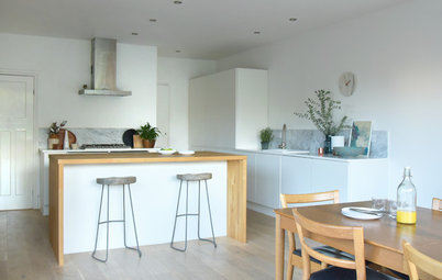 Houzz Tour: Bright Kitchen Addition Becomes a Family's Hub