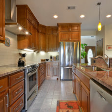 Traditional Kitchen by GreenTex Builders LLC